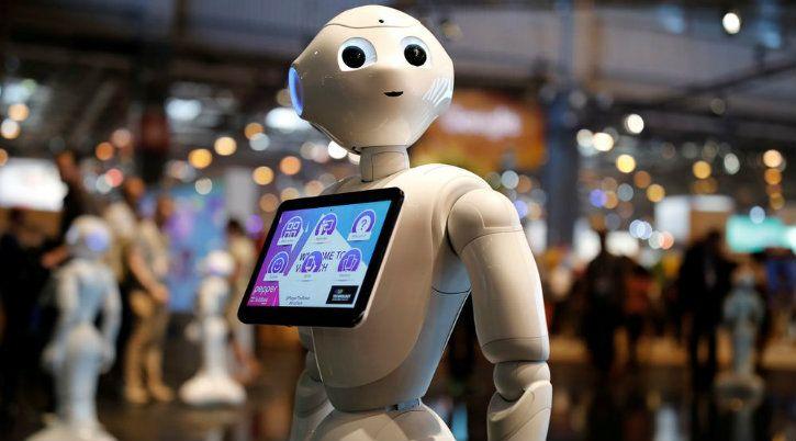 robot humanoid ai deep learning intel