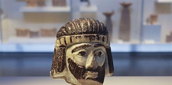 S sculpture excavated
