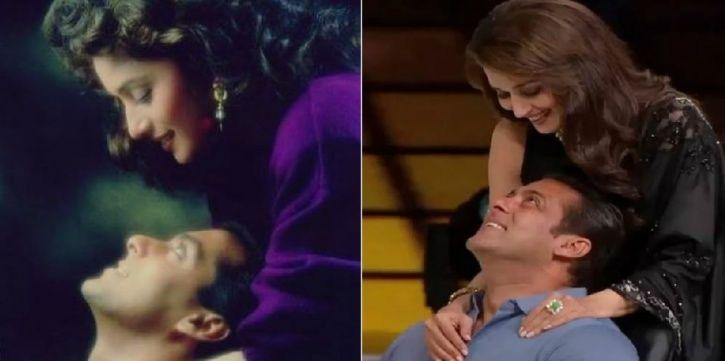 Salman and Madhuri
