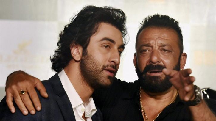 Sanjay Dutt and Ranbir