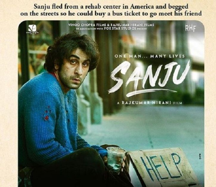 Sanju Poster