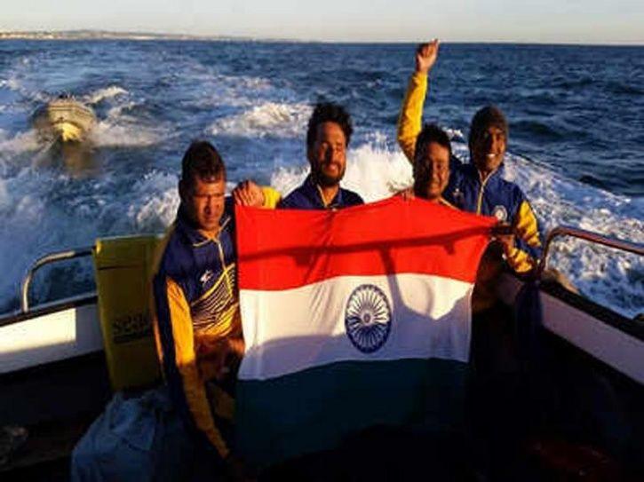 Satendra Singh crosses English channel