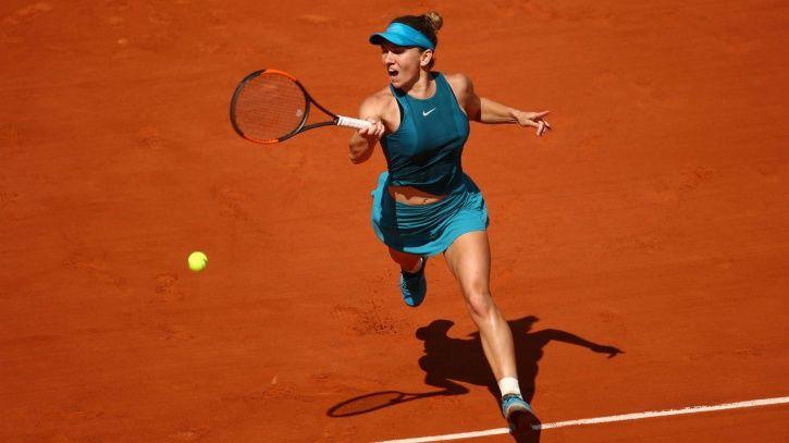 Simona Halep won in the deciding set