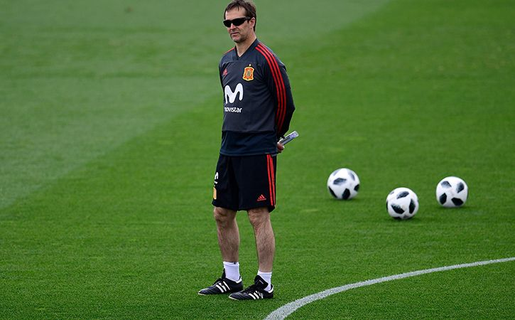 Spain sacked coach julen lopetegui just two days before the team
