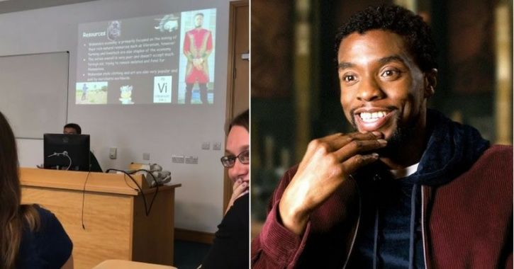 Student Fools Class With Presentation On Wakanda's Power Struggle, Professor Buys Every Second Of It
