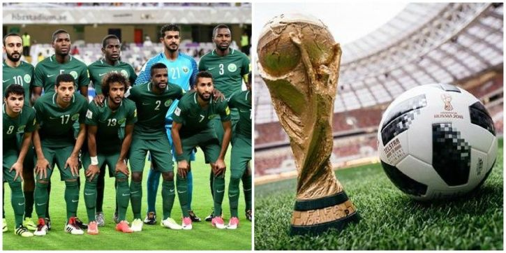Suadi Arabia play Russia on June 14