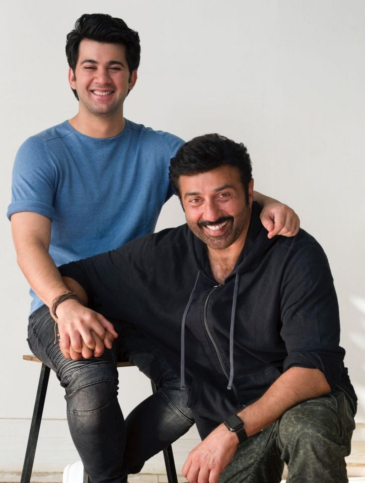 Sunny Deol's son Karan Deol who is making his Bollywood debut with Pal Pal Dil Ke Paas.