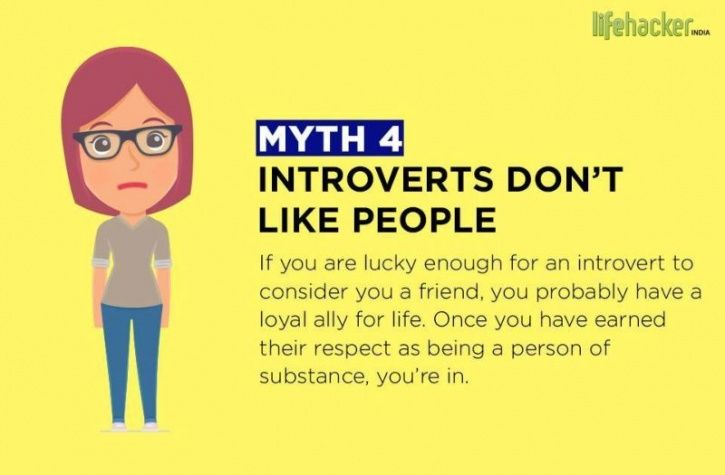 The 10 Most Common Introvert Myths Debunked Through These Brilliant Illustrations