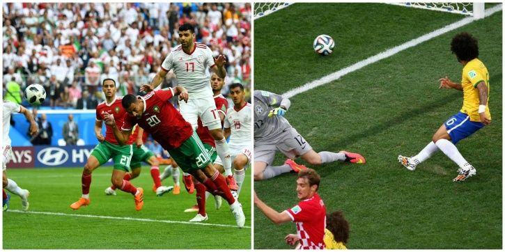 The FIFA World Cup has seen many own goals