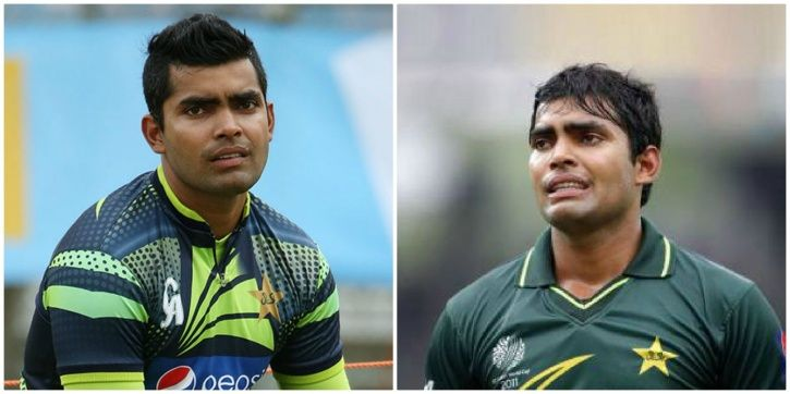 Umar Akmal scored a duck vs India in the 2015 World Cup