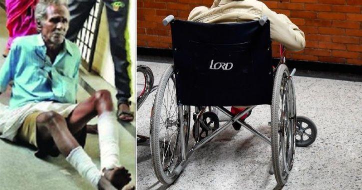 wheelchair hospital