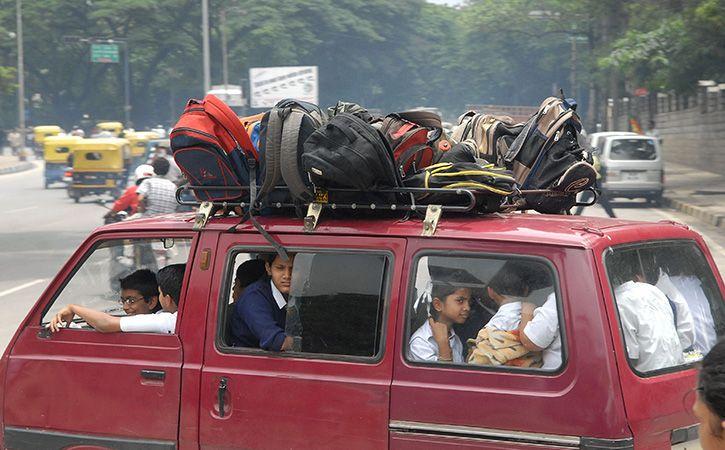2 Teachers Turn Drivers To Retain 185 Students In Kannada School
