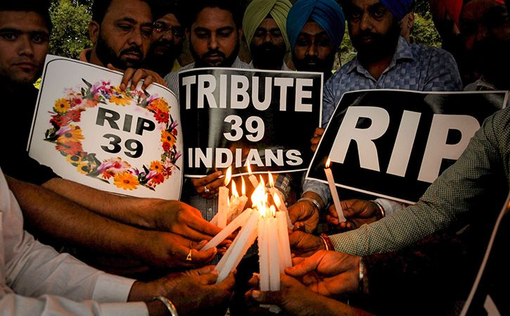 39 Indians killed in Iraq