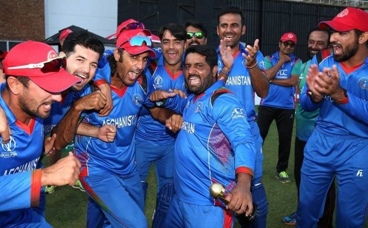 Afghanistan will play as a Test nation