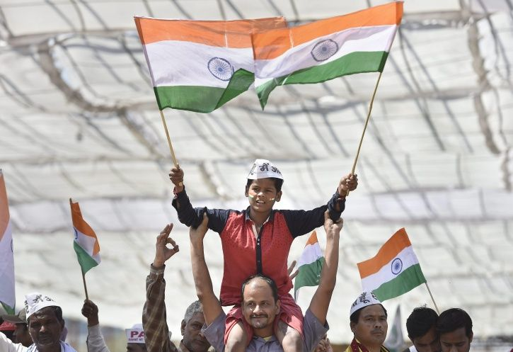 Anna Hazare Is Back In Delhi Demanding Lokpal