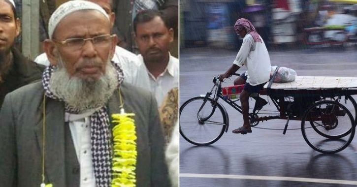 assam rickshaw puller
