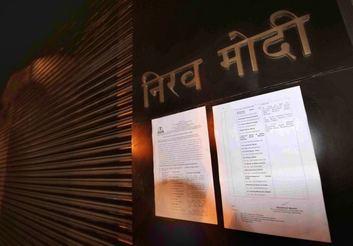 Blue Corner Notice Against Nirav Modi