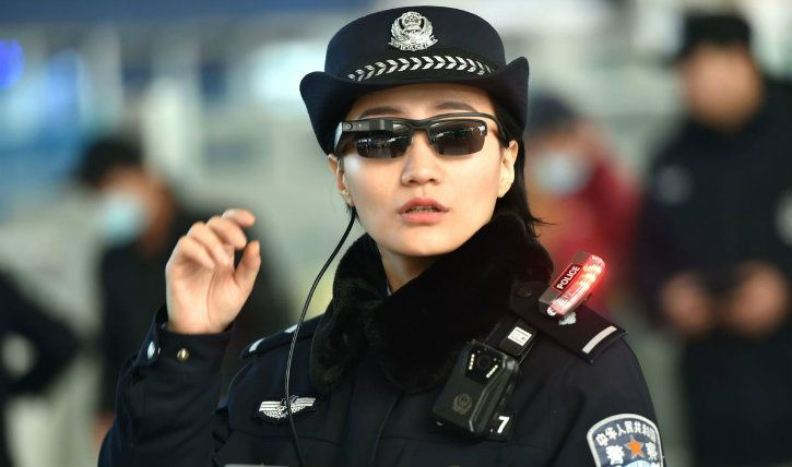china ai goggle for police
