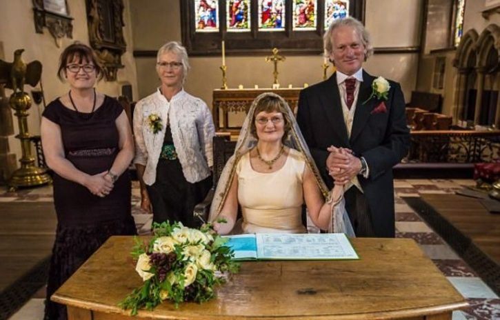 couple marries four decades later