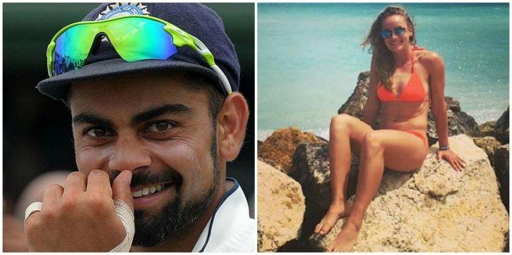 Danielle Wyatt and Virat Kohli have a good rapport