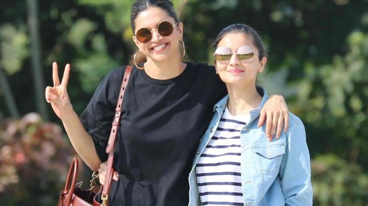 Deepika and Alia