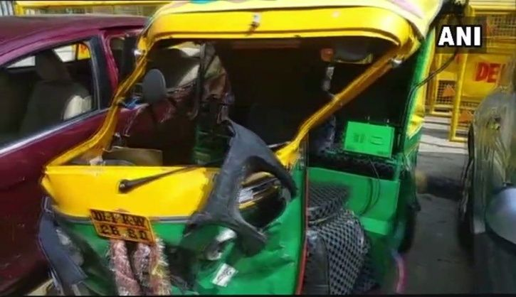 Delhi Teenager Takes Uncle Car For A Joyride