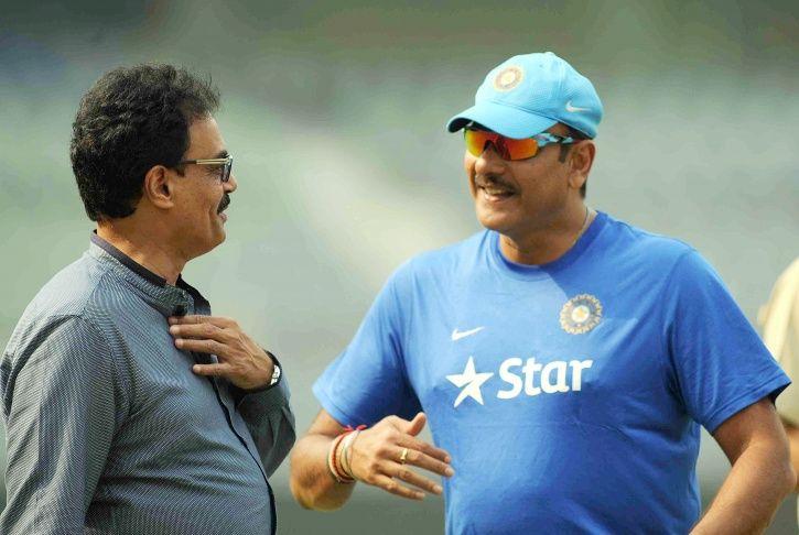 Dilip Vengsarkar and Ravi Shastri