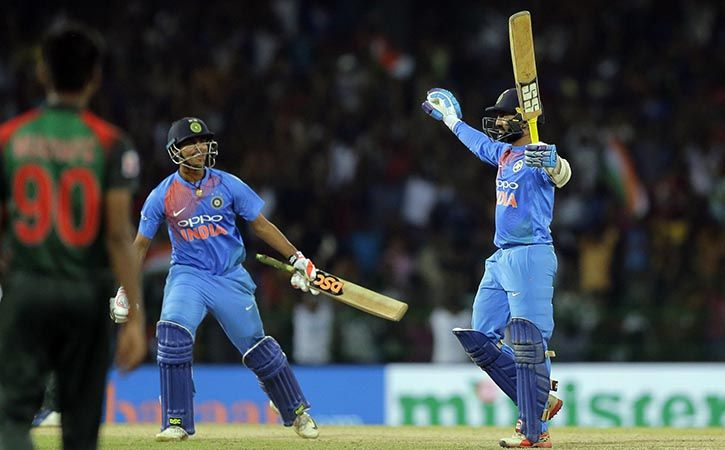 Dinesh Karthik Winning A Match With A Last Ball Six Is A Lifetime Memory