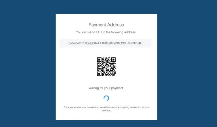 Ethereum cryptocurrency wallet