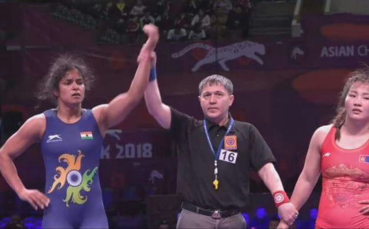 first Indian woman to win gold in the senior Asian Championship
