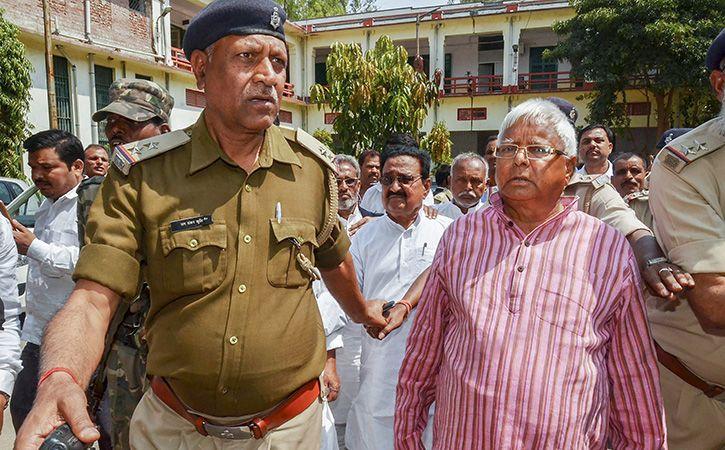 Fodder Scam Case: Lalu Prasad Sentenced To 7 Yrs In Prison