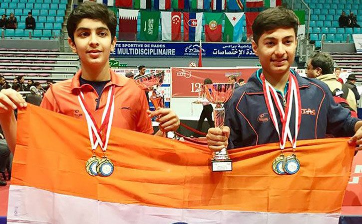Golden Double As Young Indian Paddlers Shine In Tunisia