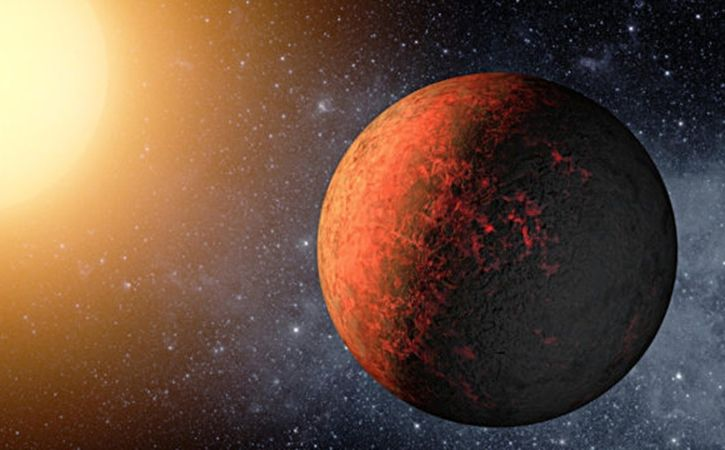 Hot Metallic Earth-Sized Planet Discovered