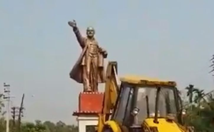 How The Left Was Demolished Again In Tripura