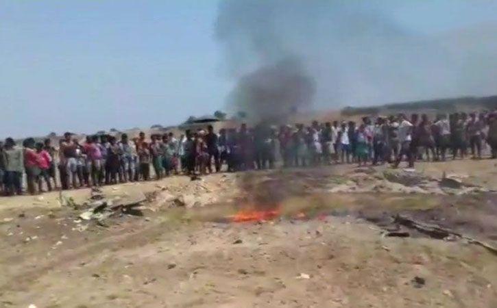 IAF Plane Crashes In Mayurbhunj, Odisha