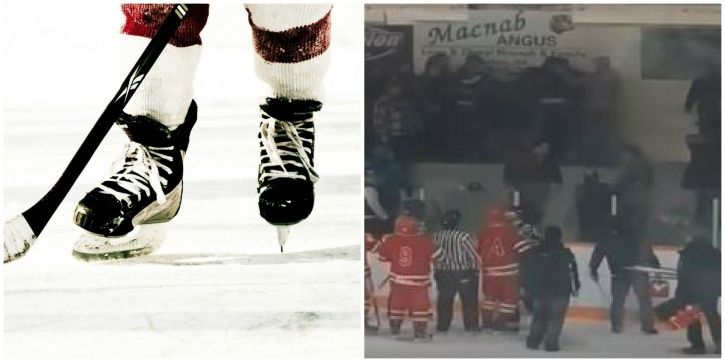 Ice hockey is a big deal in Canada