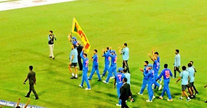 India won off the last ball