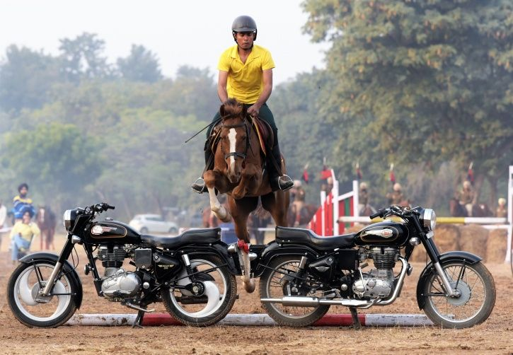 indian army stunt
