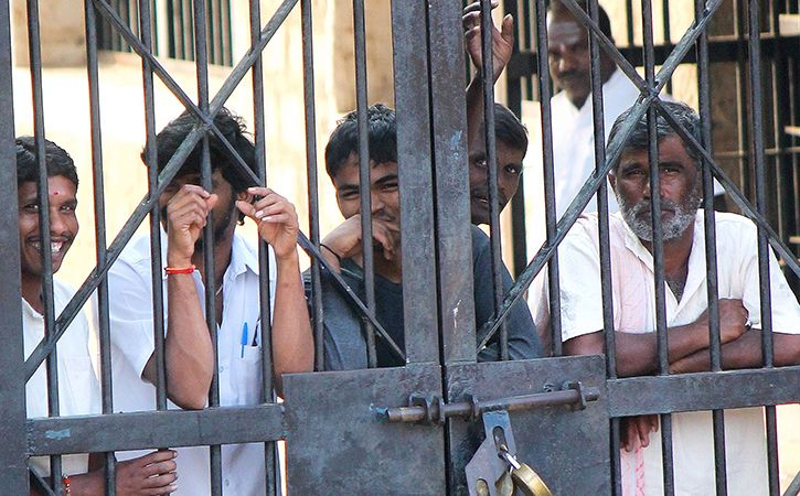 Jails Overcrowded Up To 600 Times