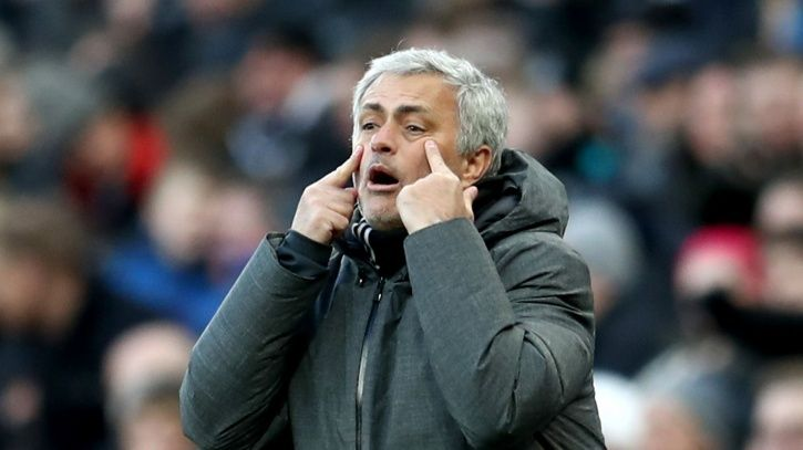 Jose Mourinho is not well liked by Manchester United fans right now