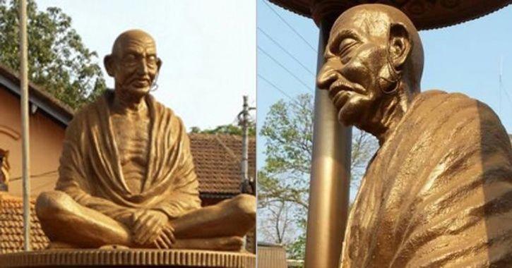 Mahatma Gandhi Statue Vandalised