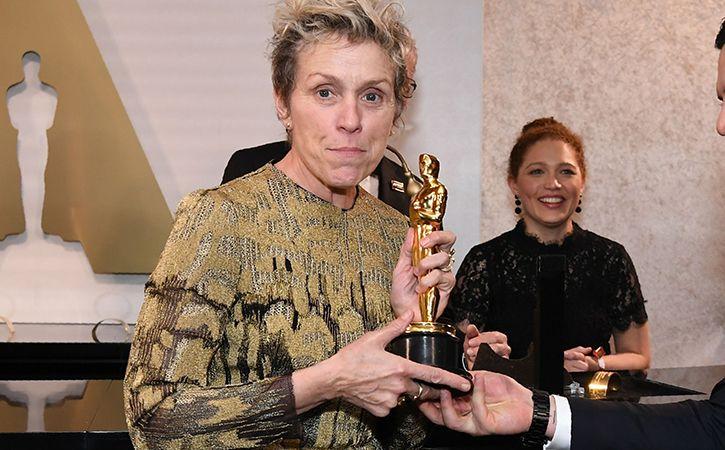 Man Accused Of Stealing Frances Mcdormand Oscar Trophy
