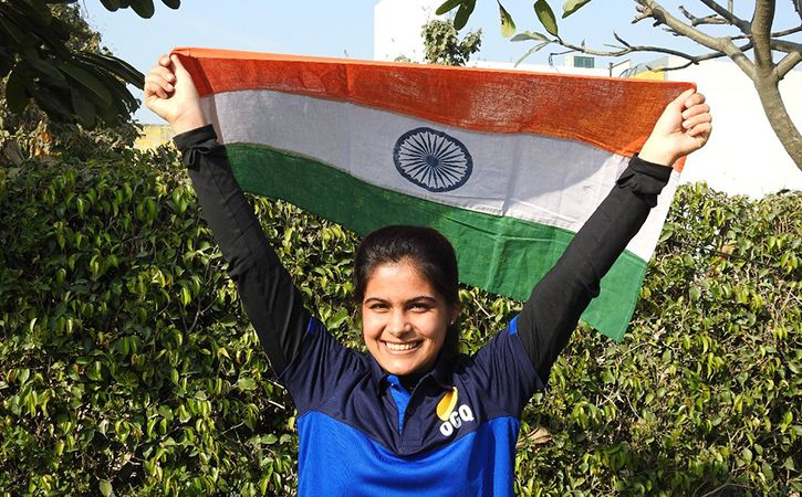 Manu Bhaker Shoots Gold At World Cup To Book  Youth Olympic Games