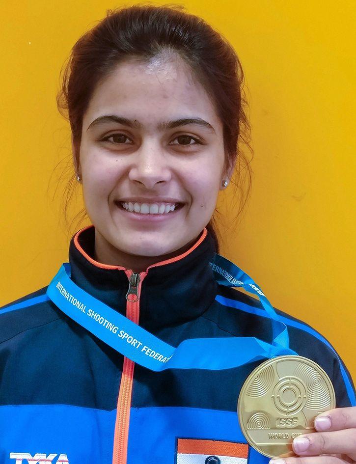Manu Bhaker Wins 2nd Gold In 2 Days