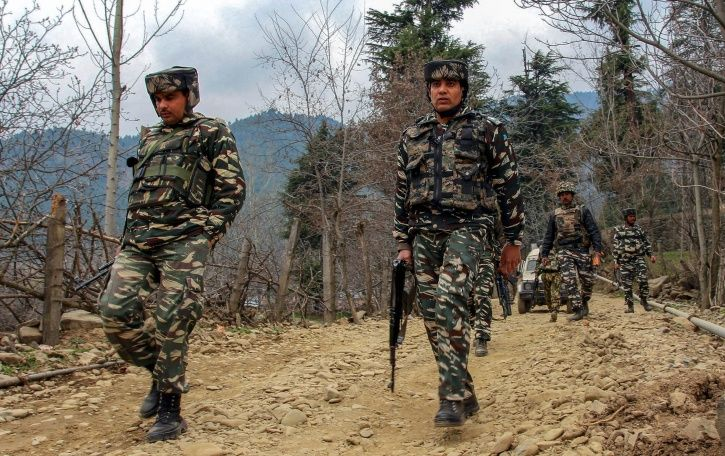 Massive Search Operation Underway In Kupwara After Five Security Personnel