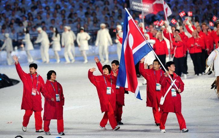 North Korea took part in South Korea