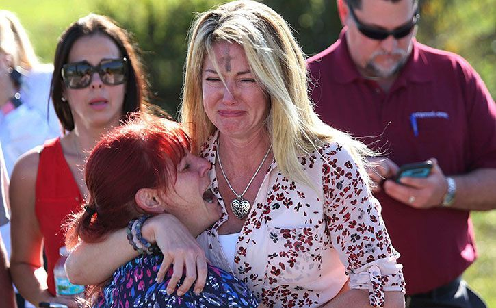 Parents of the Florida school shooting victims