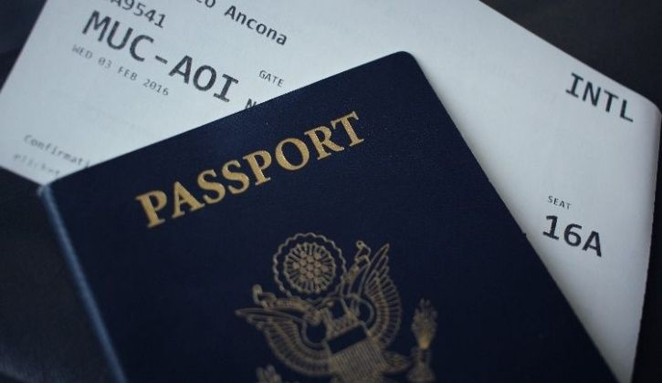 passport airport security check