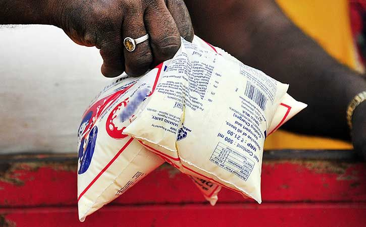 Pay 50 Paise Recycling Charge On Milk Packet