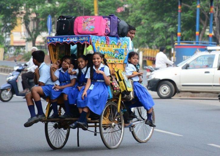 rickshaw puller Ahmed Ali Assam